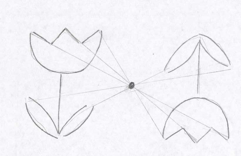 Картинки центральная симметрии