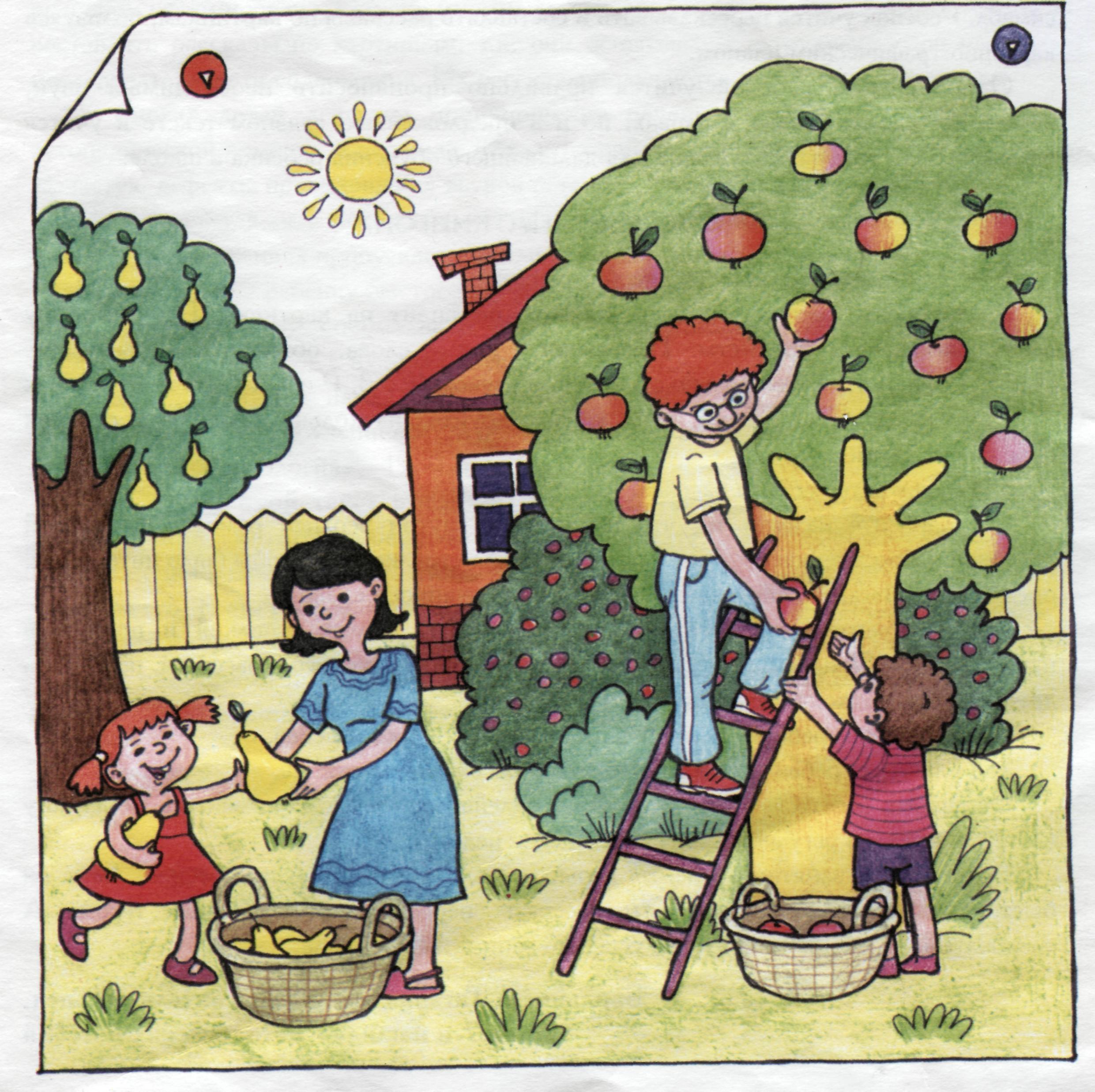 Картинка гербова домик малыша