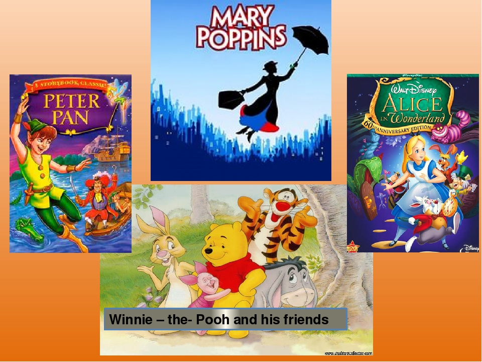 Winnie – the- Pooh and his friends