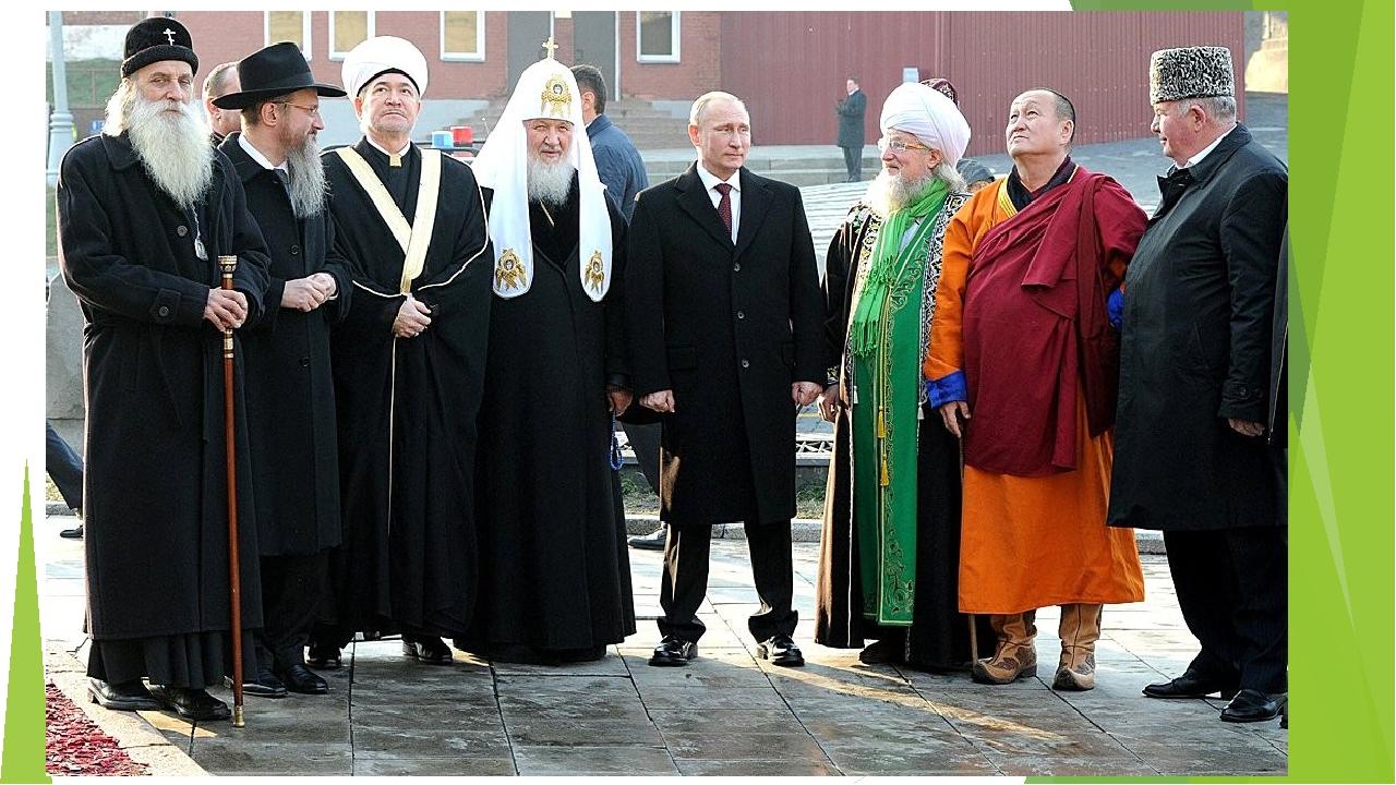 Главы российских религий фото