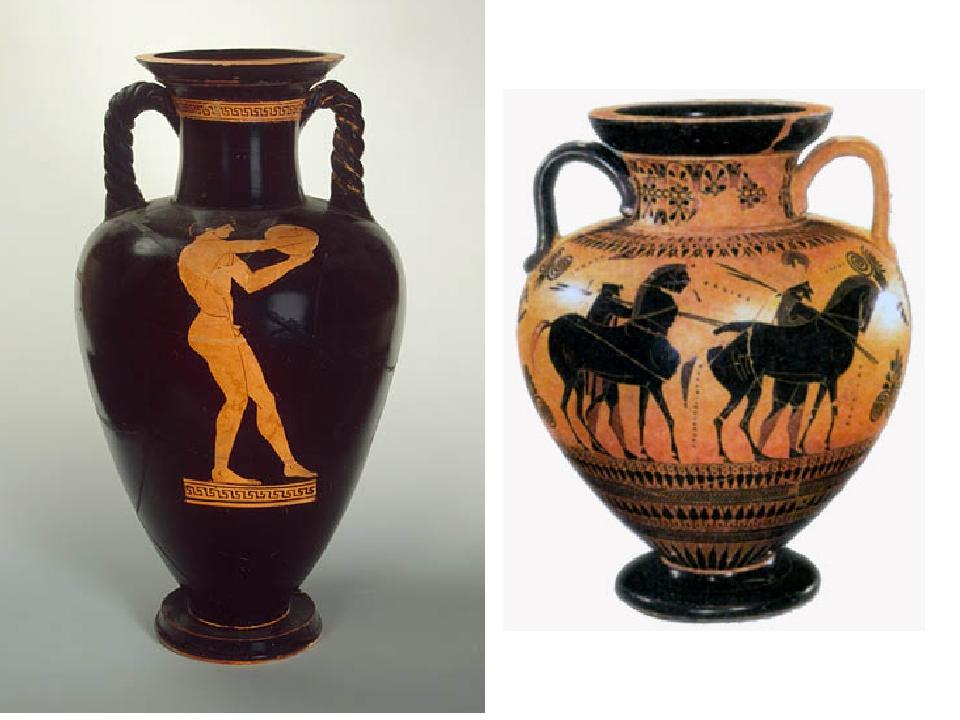 изысканный декор сосудов древней греции рисунки его