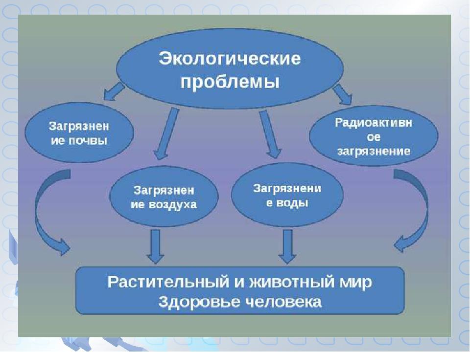 чат опытным перечислите экологические проблемы приморского края нем