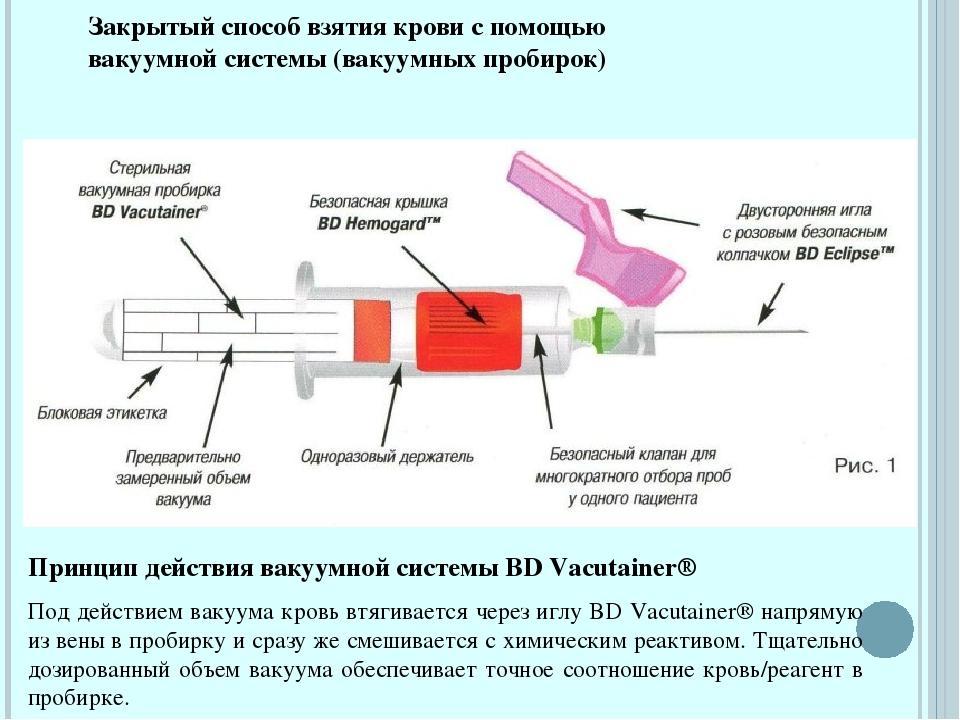 Реферат на тему забор крови из вены 4405