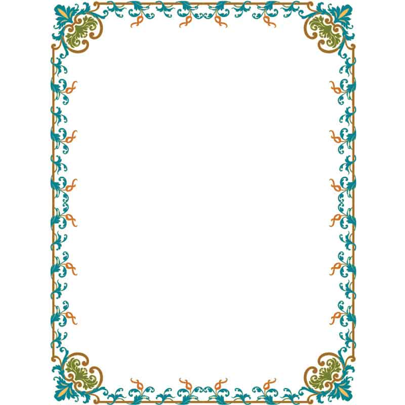 орнамент текста картинки для рамки