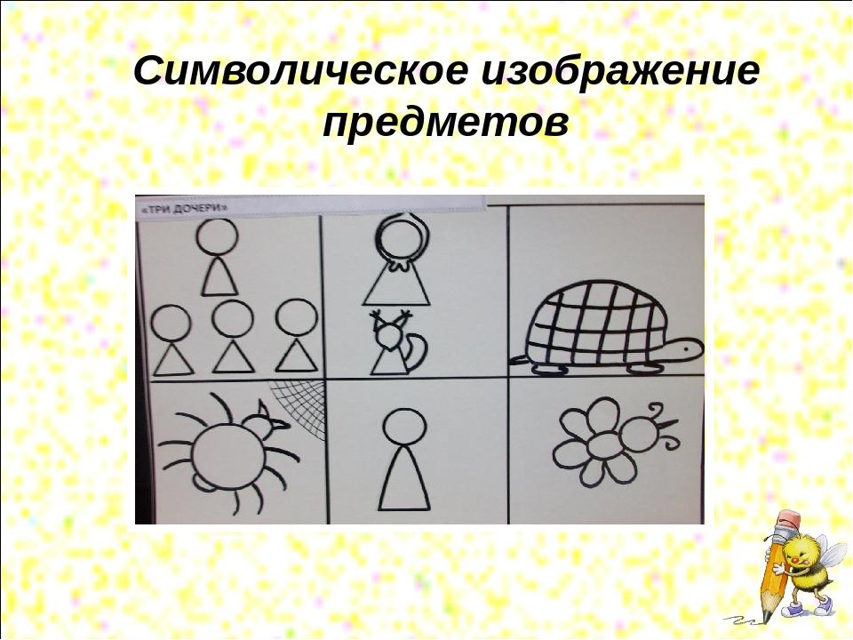 Символическое изображение предметов