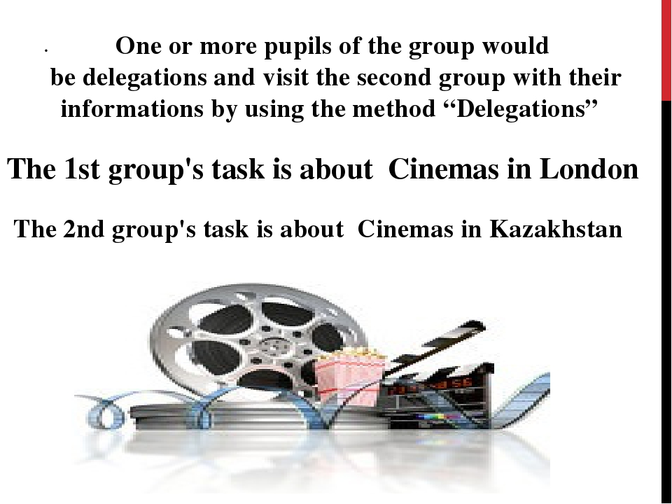 . One or more pupils of the group would be delegations and visit the second g...