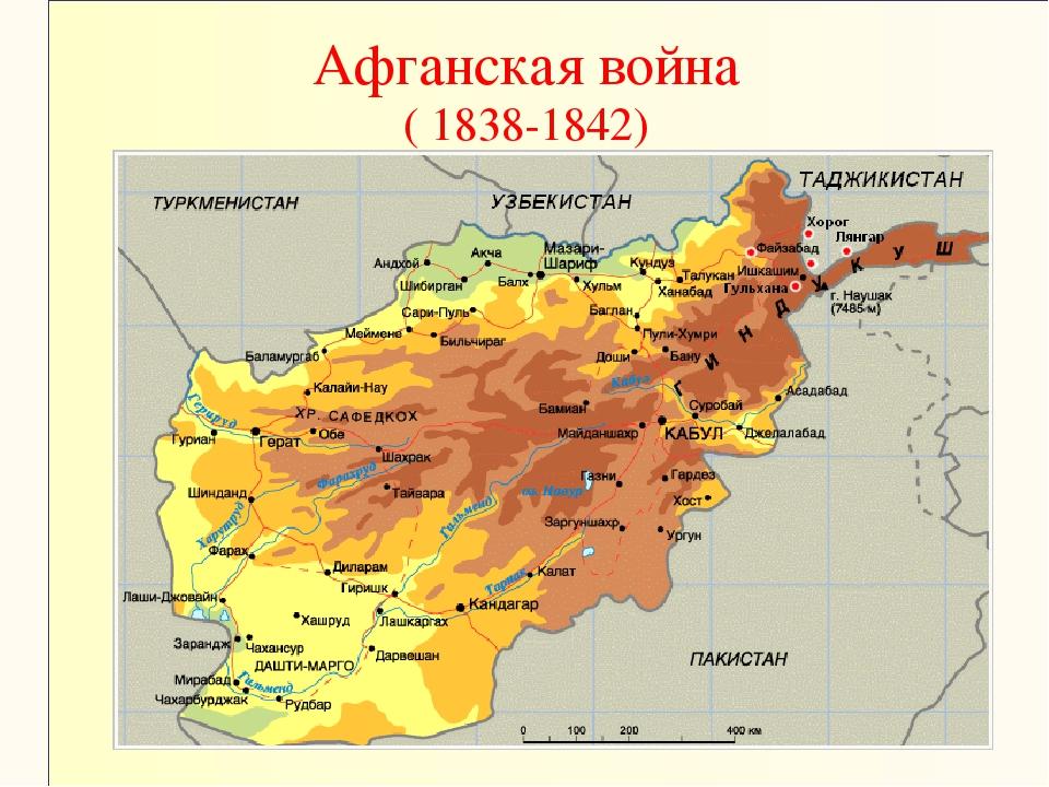 Афганская война ( 1838-1842)