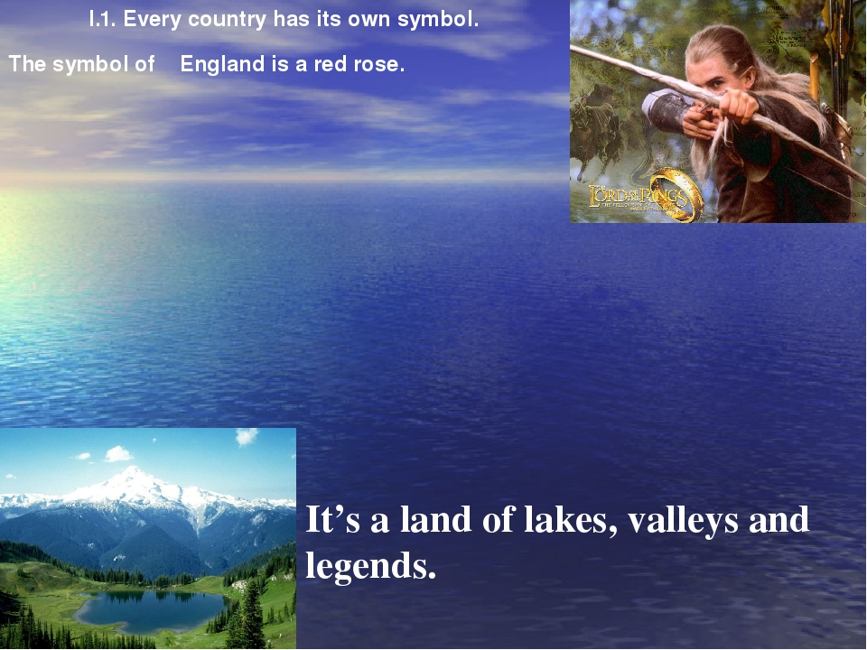 It's a land of lakes, valleys and legends. The symbol of England is a red ros...