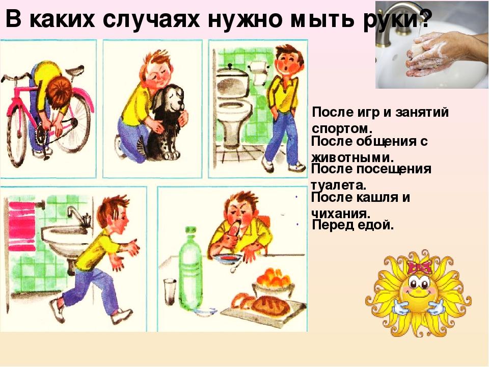Гигиена для дошкольников в картинках презентация