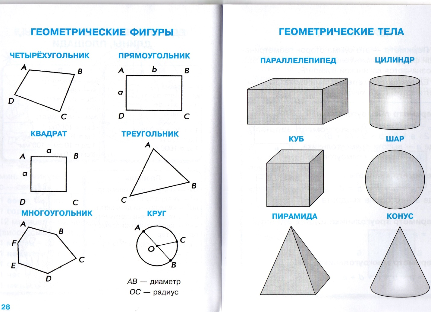 фото картинки всех фигур по геометрии ним стараются