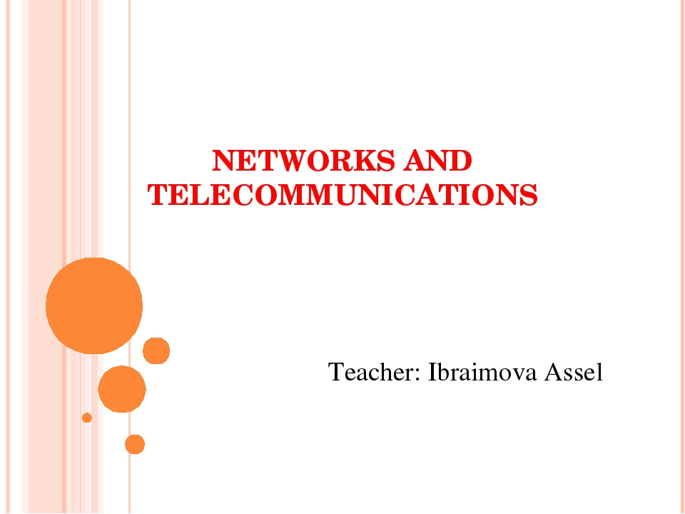 networks telecommunications i essay Network and telecommunications concepts this research paper network and telecommunications concepts and other 64,000+ term papers, college essay examples and free.