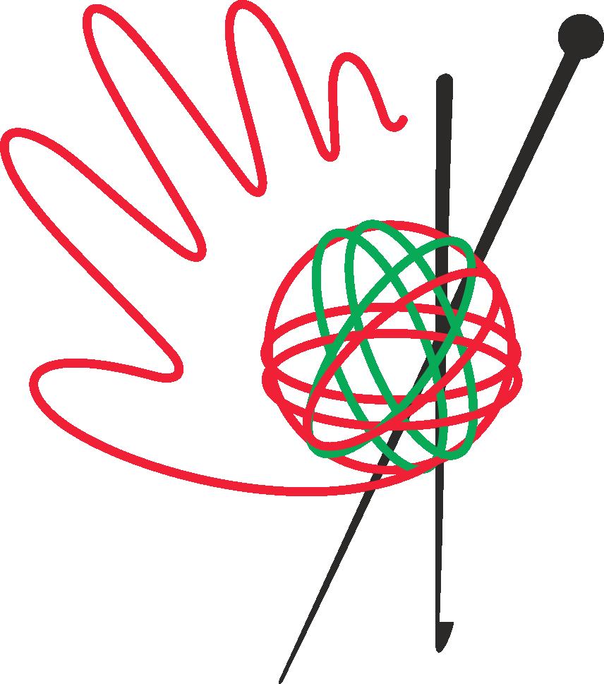 Вязание спицами логотипы 44