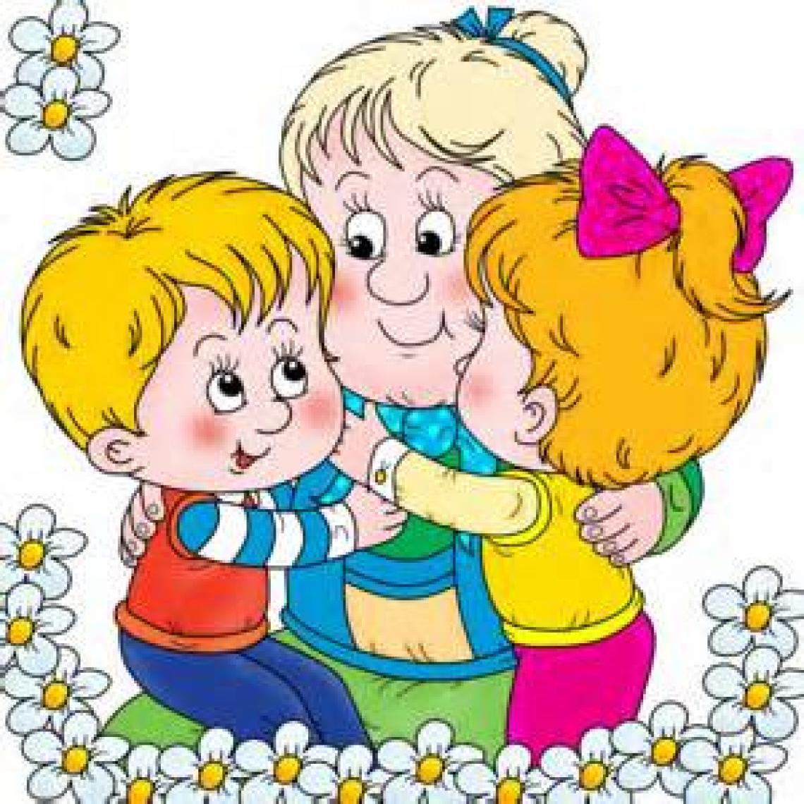 Рисунок открытка ко дню пожилого человека для детей