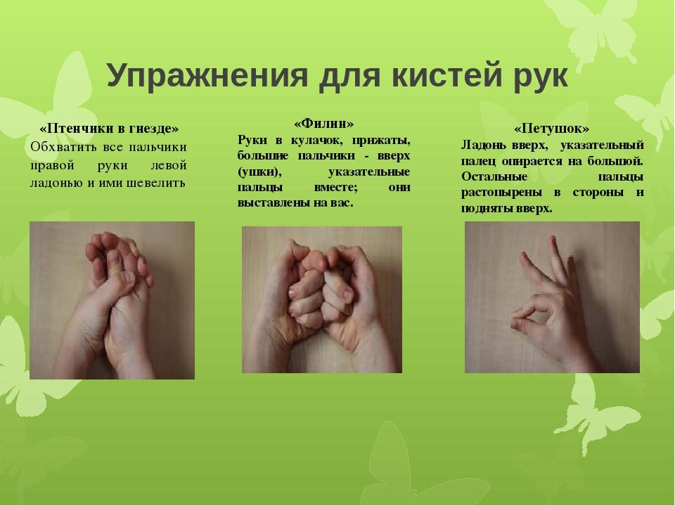 упражнения на кисти рук в картинках может появиться как