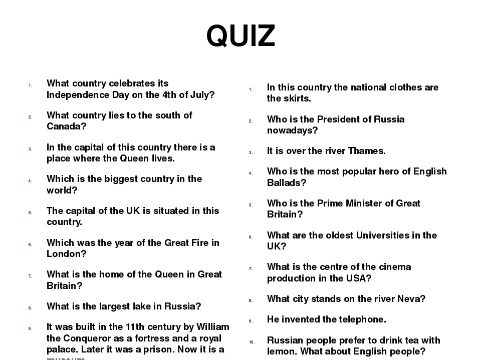 What Turns You On Quiz For Guys