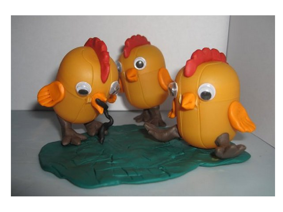 Поделки из киндер яиц и пластилина своими руками для детского сада 52