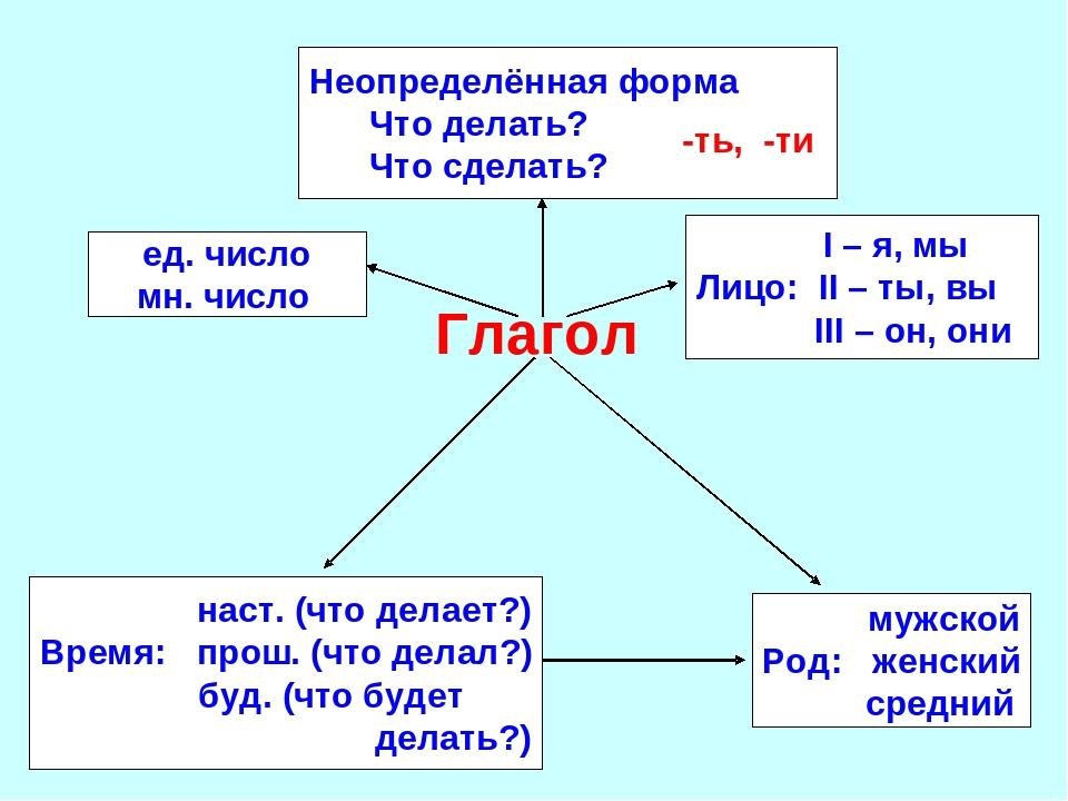 дерево глагол обобщение картинки может