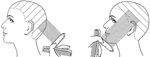 Срезы в стрижках