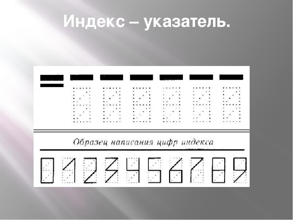 Как написать индекс на открытке, февраля