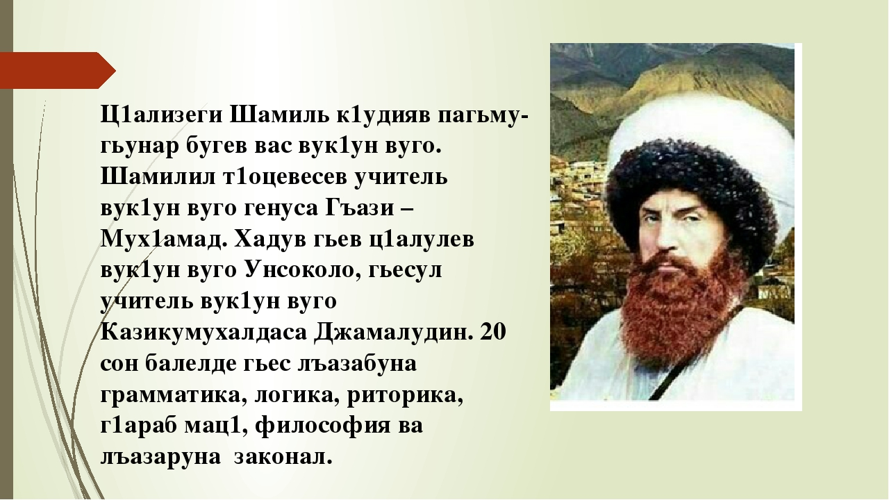 стихи для шамиля тип