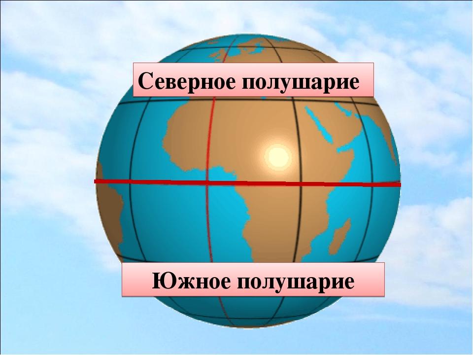 Северное полушарие картинки