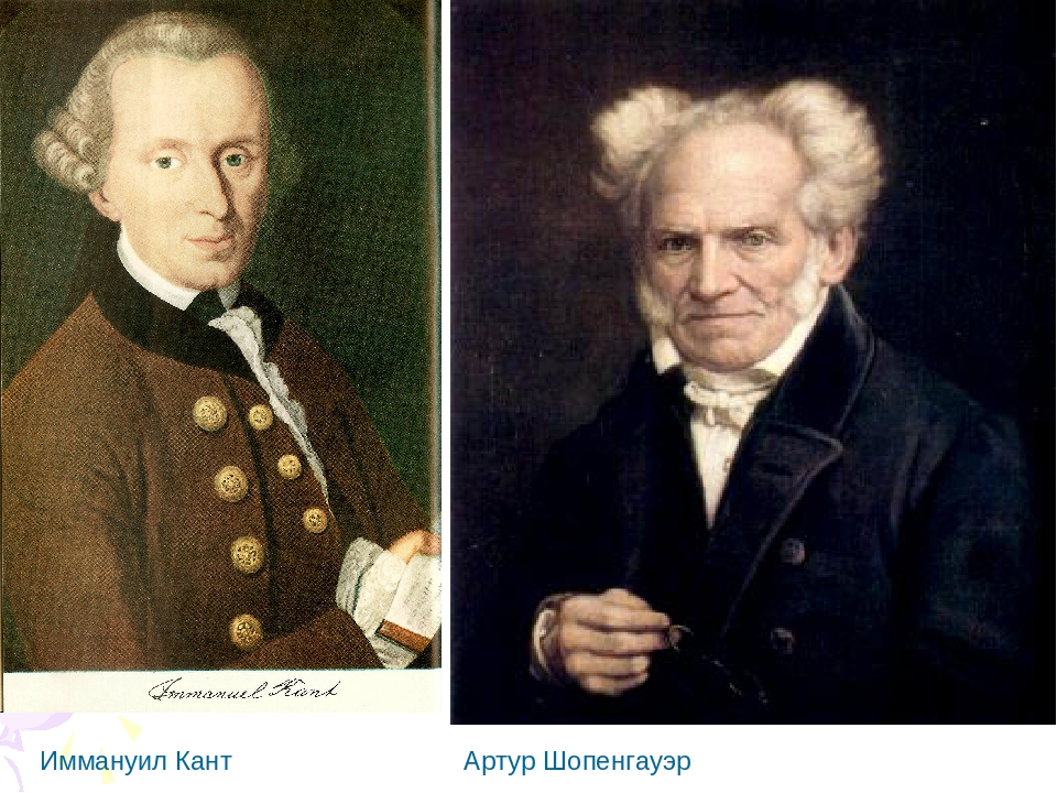 a look at the differing views of philosophers immanuel kant and arthur schopenhauer The 19th century german philosopher arthur schopenhauer wrote: home » arthur schopenhauer » introduction to schopenhauer immanuel kant.