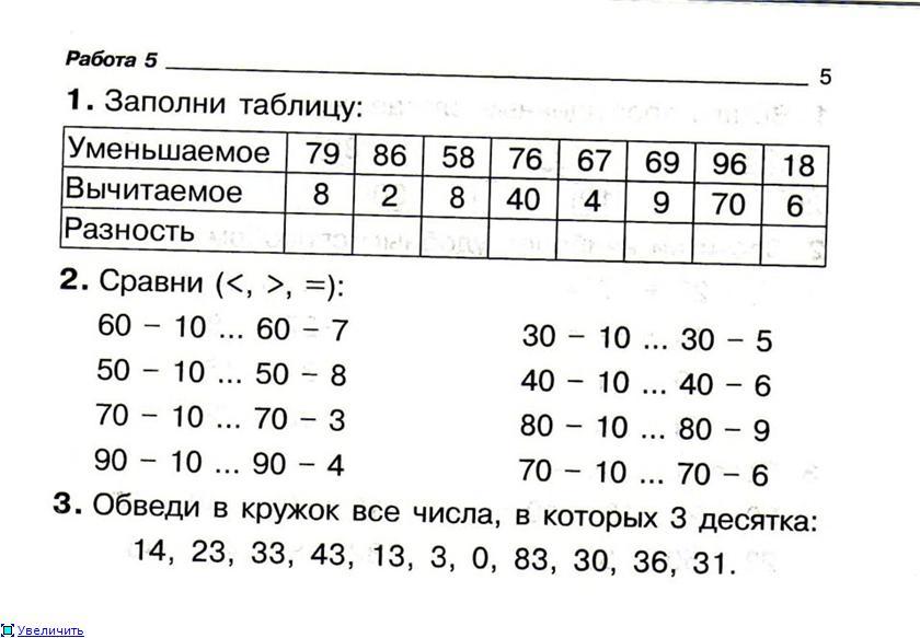 Про школу точка ру тесты по математике 3 класс 1 полугодие