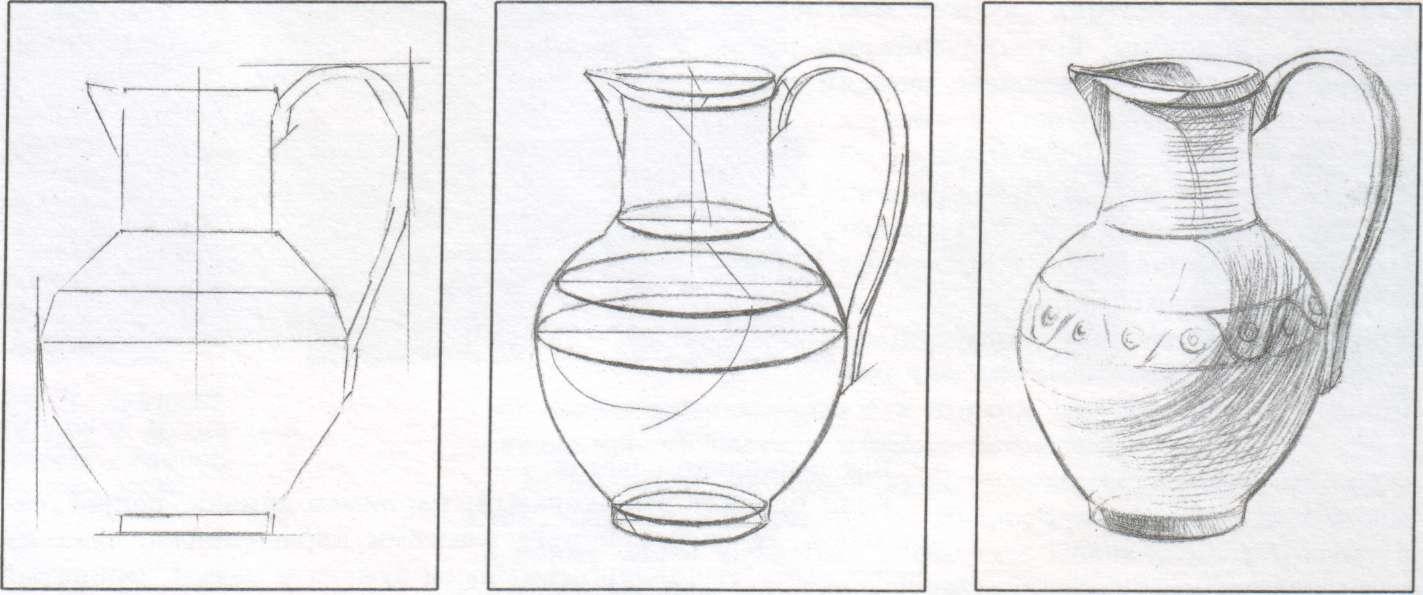 Картинки для 6 класса по изо карандашом, автором открытки