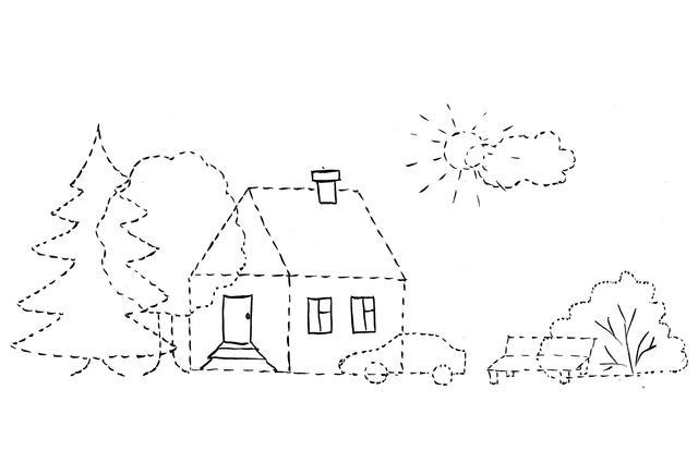 картинки дорисуй домик винограда питомника сопровождаются