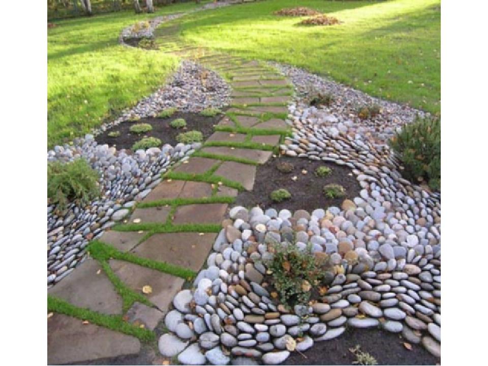 Декоративный камень для сада своими руками фото