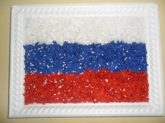 аппликация флаг россии цель качестве наличников