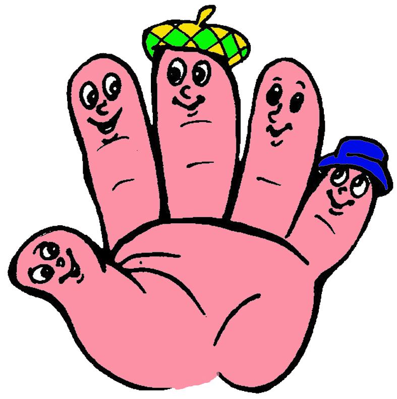 Анимационные поздравления, картинка с пальчиками