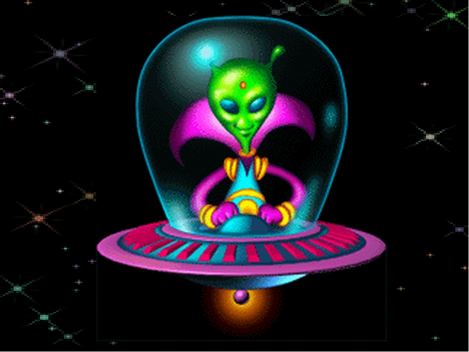 Лавандовые поля, инопланетяне картинки анимации