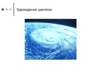 Зарождение циклона