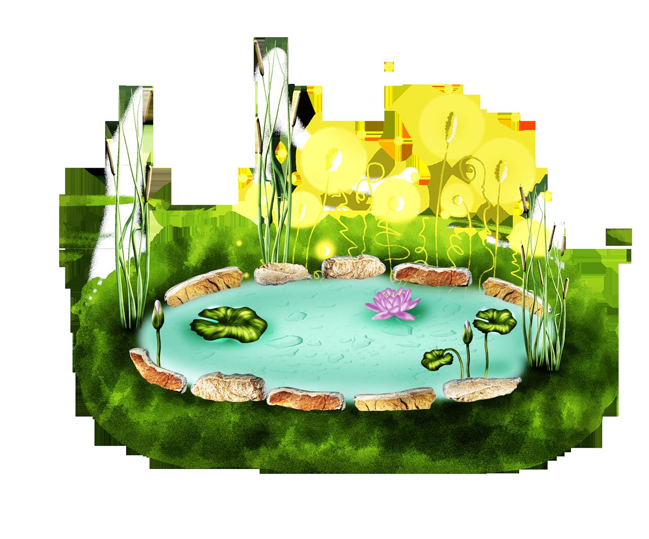 Картинки озера для детей