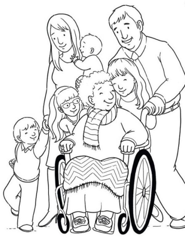 Открытка рисунок другу инвалиду