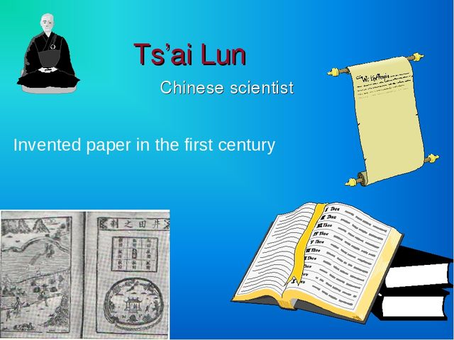 inventor of paper