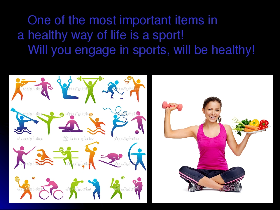 sports and healthy way of life