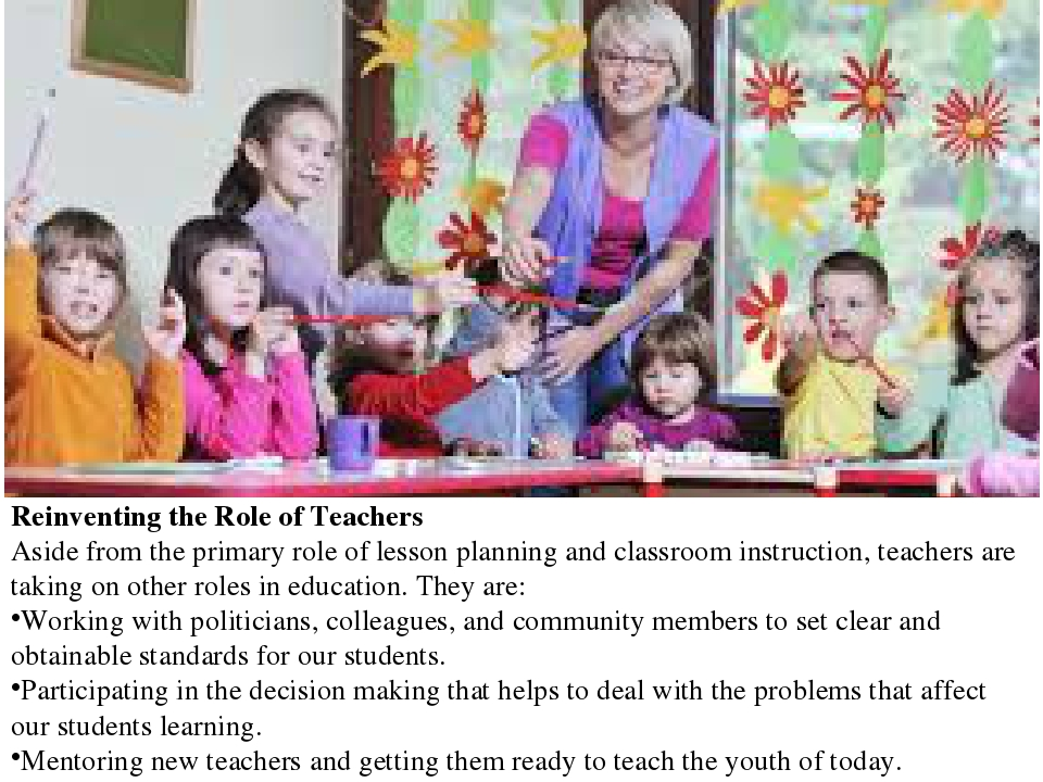 the roles of english teacher as Ten roles for teacher leaders using standards in english and social studies as their guides among the most important roles teacher leaders assume is that of.