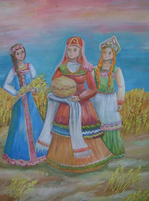 Картинки осенины на руси, красотке надпись