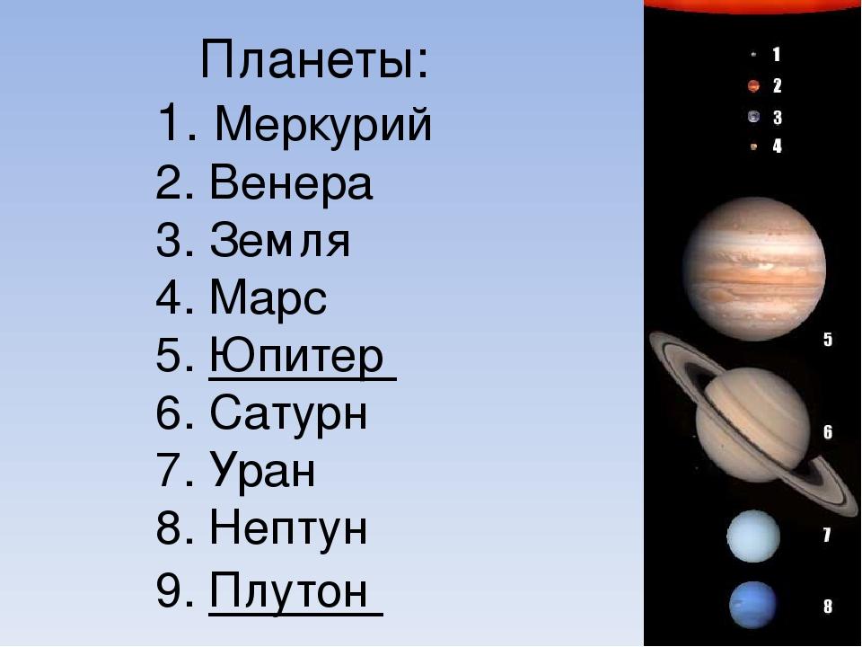 Вывод: Земля сравнительно небольшая планета