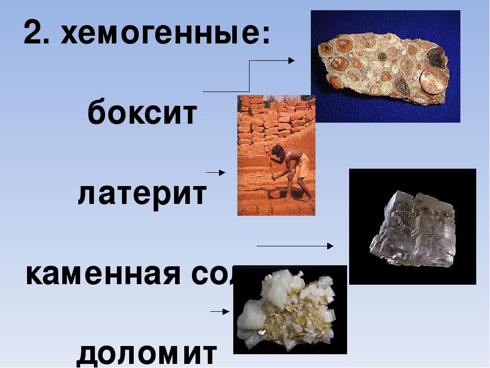 Хемогенные горные породы реферат 305