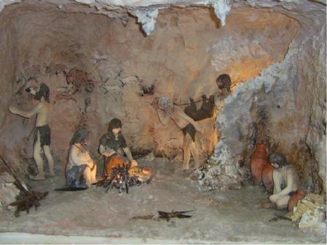 Пещеры картинки древних людей