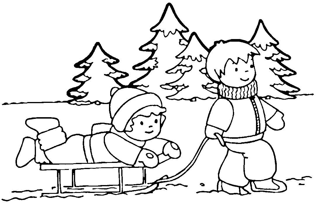 Открытки маме, как рисовать картинка зима