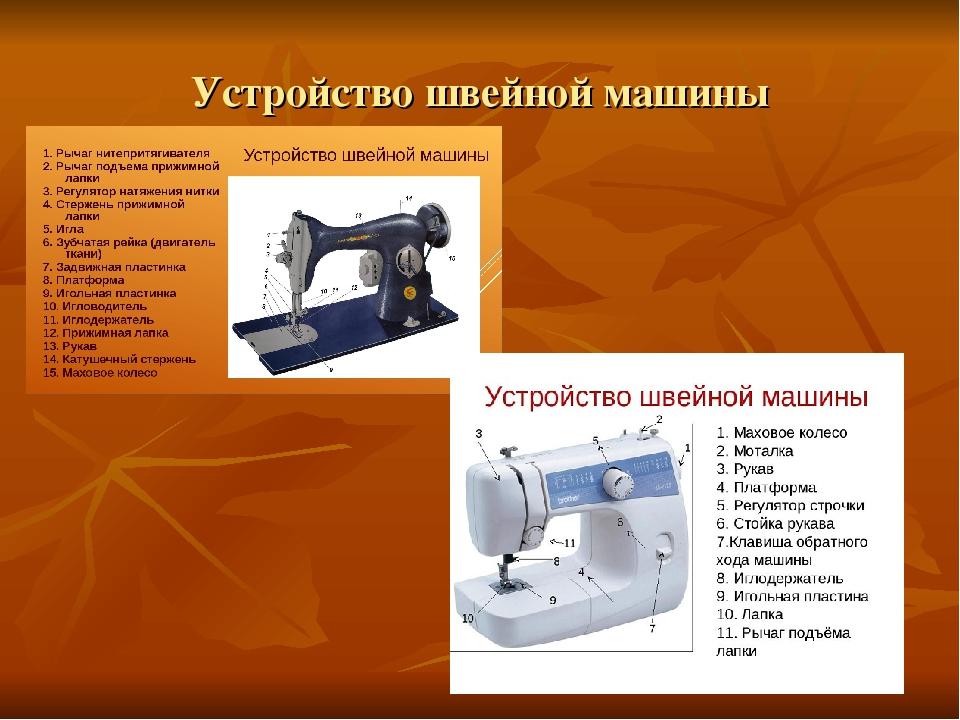швейная машина картинка описание кандидат