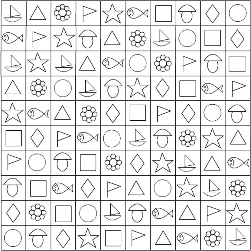 тесты в картинках с черным квадратом найдете подберете себе