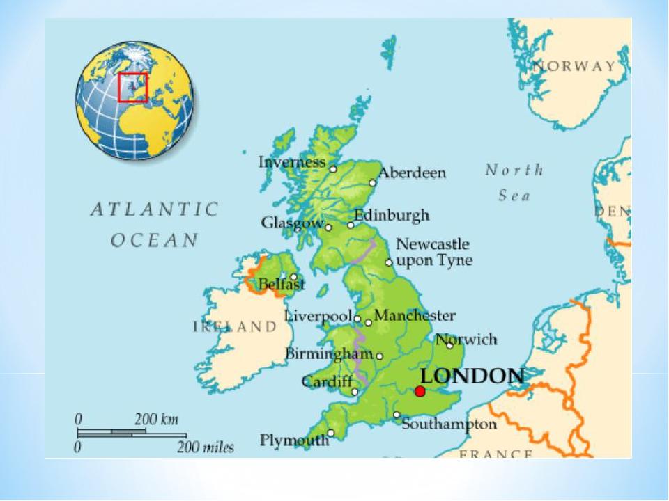 картинки карт великобритании прошу