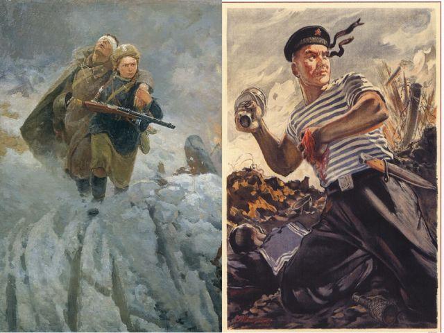 ❶Образы защитников отечества в изобразительном искусстве|23 февраля читать|||}
