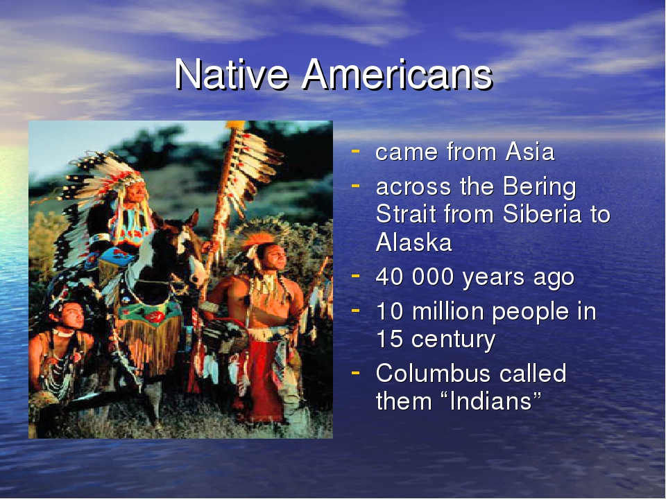 early native americans essay
