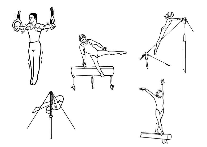 картинки атлетической гимнастики карандашом природных ресурсов хватает